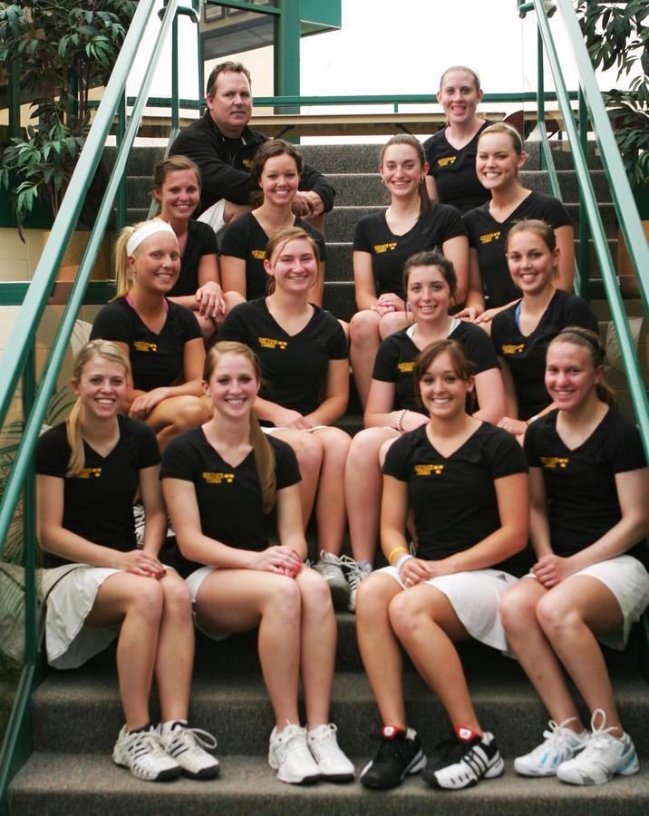 The 2009 Gustavus women's tennis team