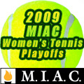 The Gusties are the #1 seed in the 2009 MIAC Women's Tennis Tournament.