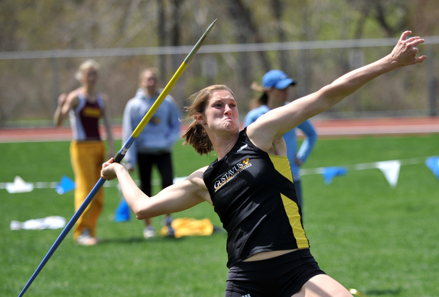 Kaelene Lundstrum claimed her first MIAC title in the heptathlon on Friday. (Photo by Dave Pape)