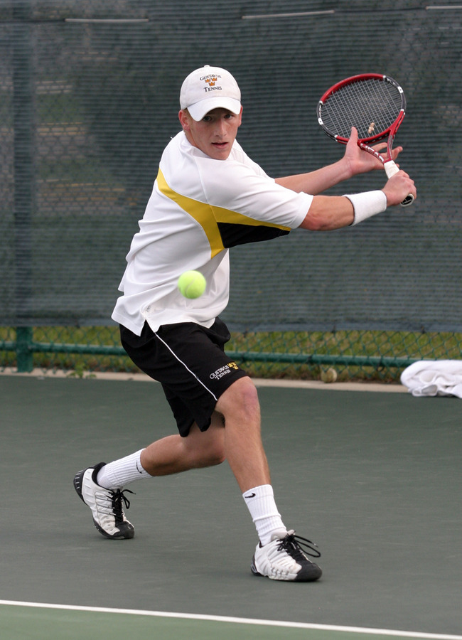 John Kauss lost just two games in two singles matches.