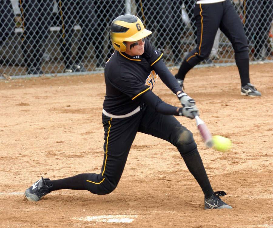 Rachael Click is the Gusties career home run leader with 33.