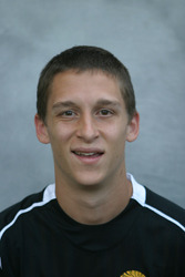 Bret VanderStreek was named MIAC Men's Soccer Athlete of the Week.