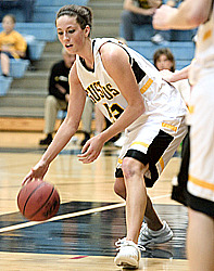 Bri Monahan led the Gusties to a key win
