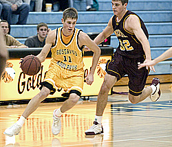 Trevor Wittwer turned in a strong all-around performance for the Gusties.