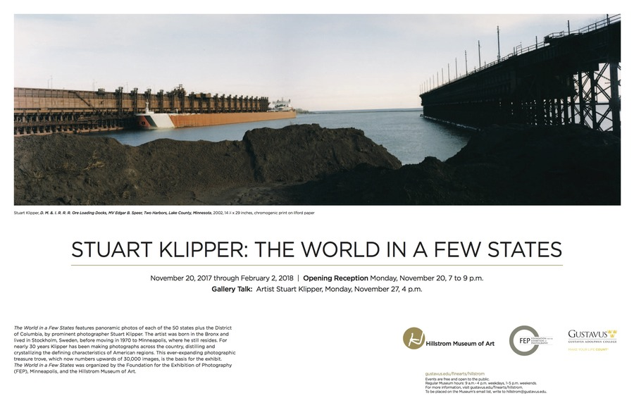 Hillstrom Museum of Art exhibitions: Stuart Klipper: The World in a