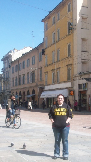 Me in Italy!