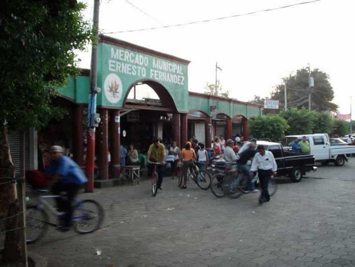 Market in Nicaragua