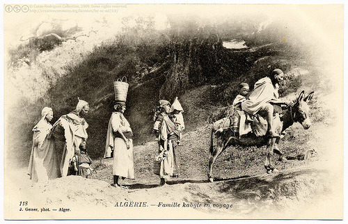 Algerian Kabyle on the march