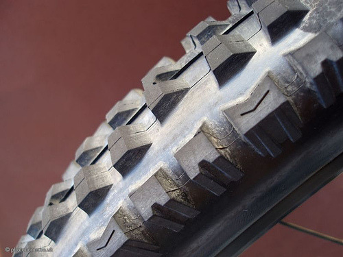 Bike Wheel Tread