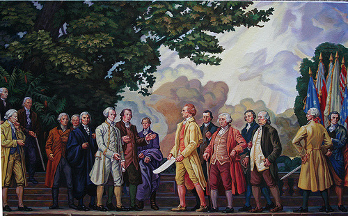 Signers of Declaration of Independence