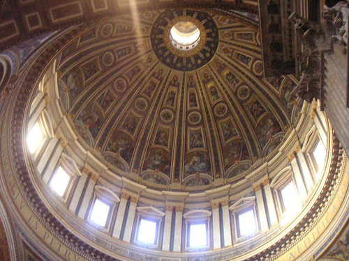 Dome in St. Peter's Basilica