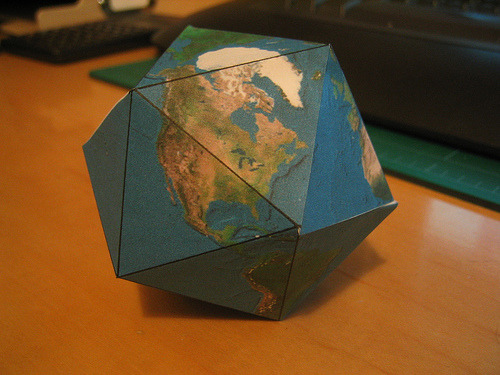 Dymaxion Projection Globe