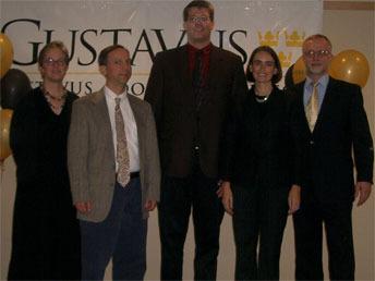 Milo Martin and Rebecca Konrad with Barbara Kaiser, Max Hailperin, and Karl Knight