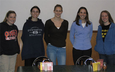 alumnae and students discussed secondary math eduction