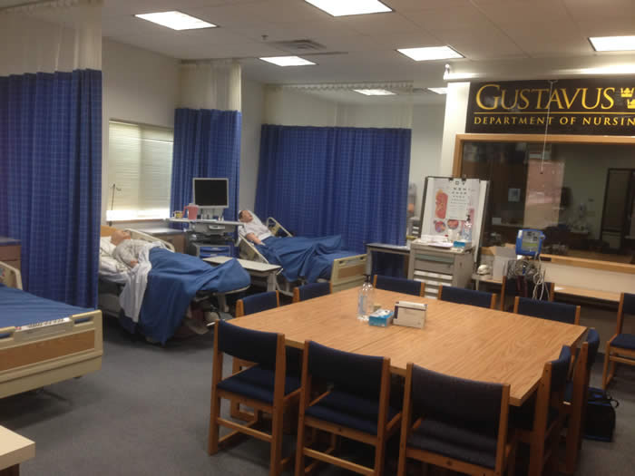 The Gustavus Nursing and Simulation Lab