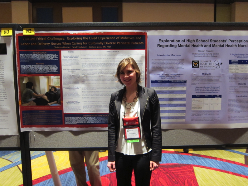 presenting student research