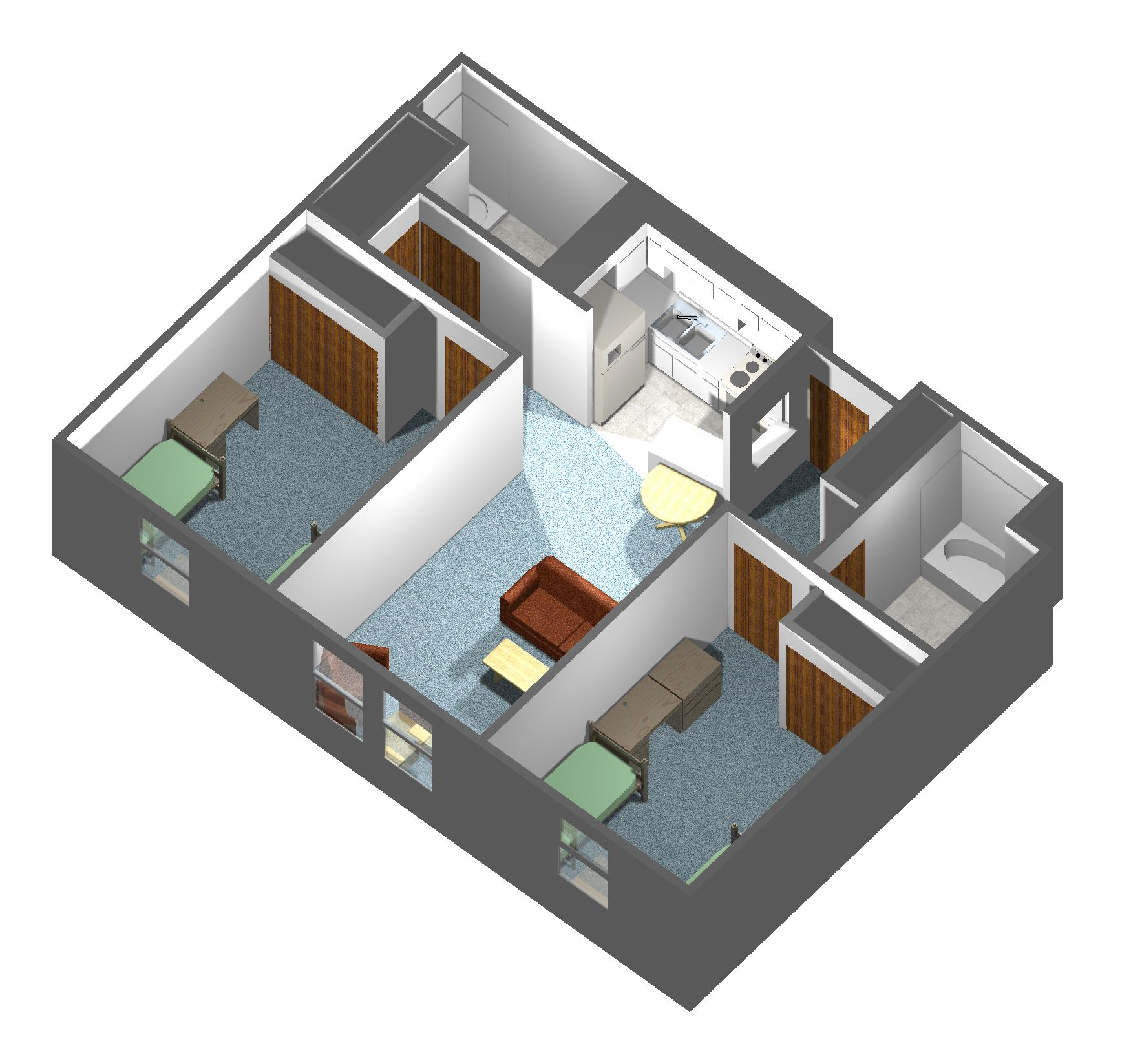 College View Apartment Information