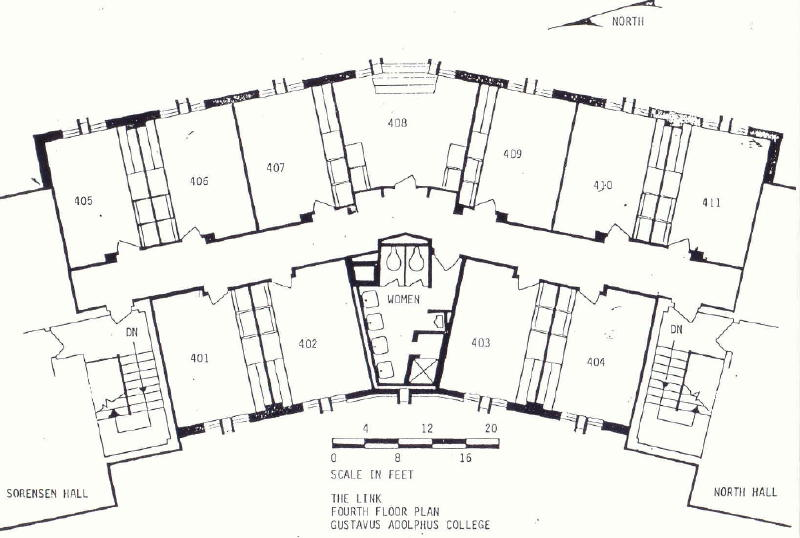 Gibbs hall dimensions residences for Motor pool floor plan