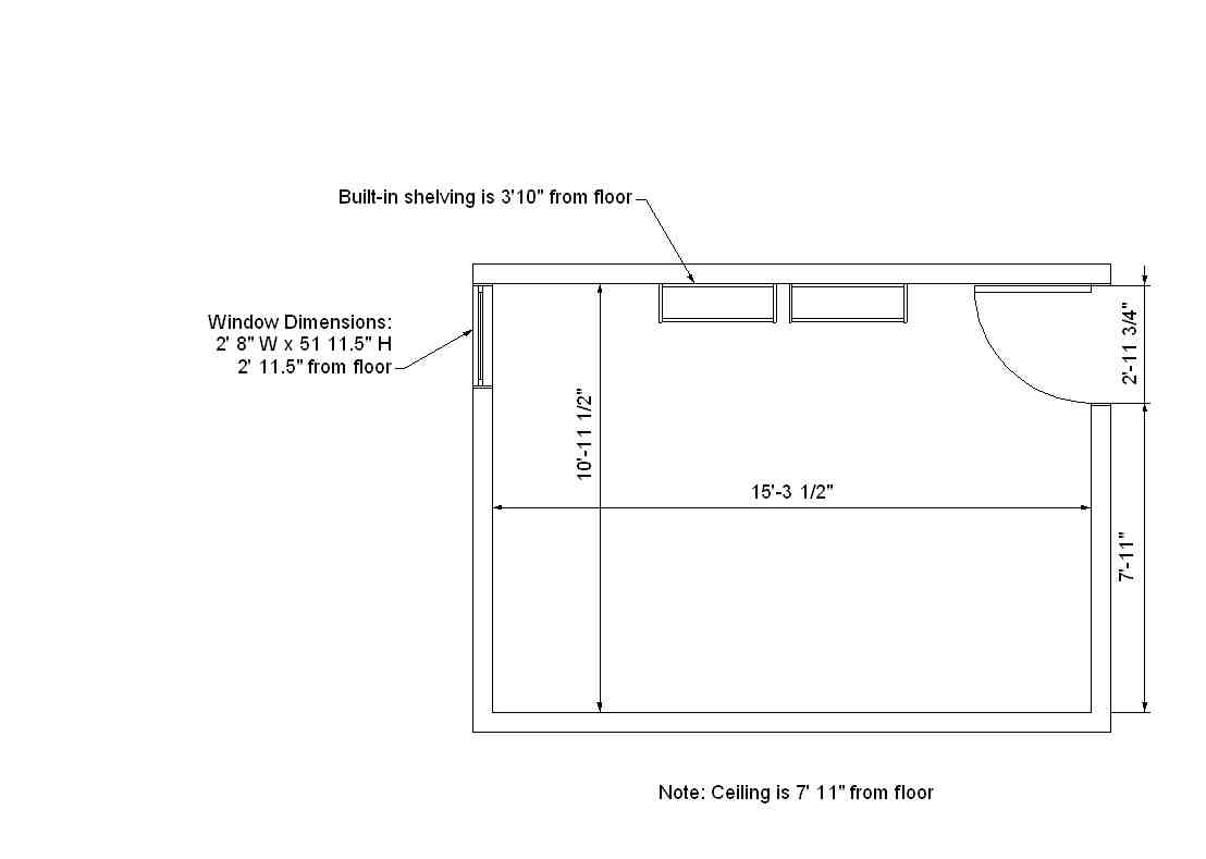 Norelius Hall Dimensions | Residences