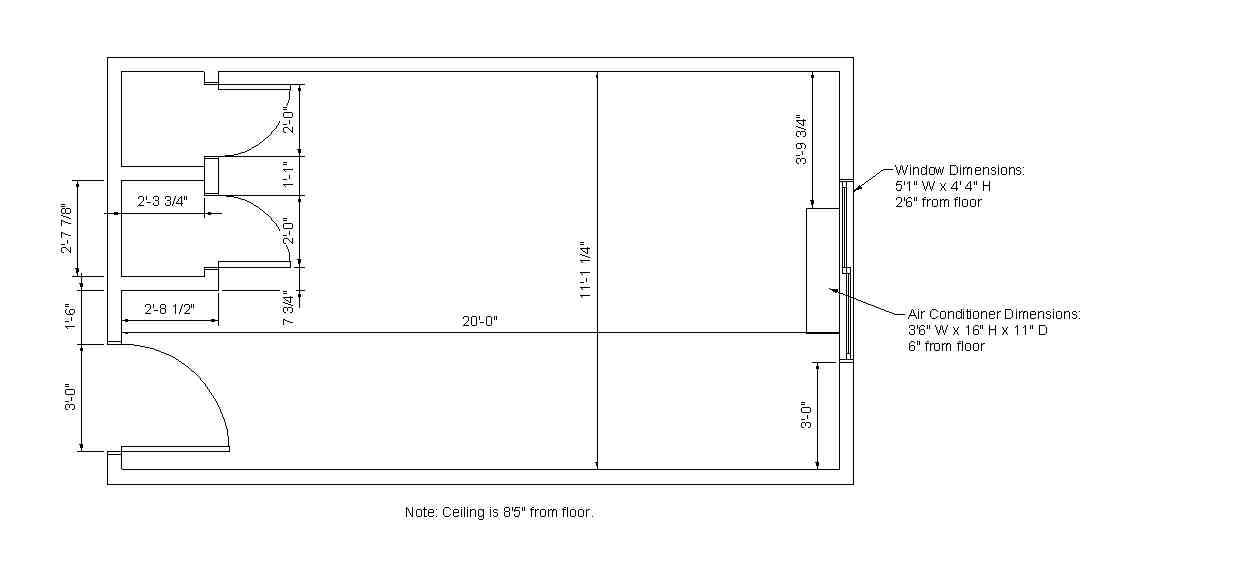 Prairie View Hall Room Dimensions | Residences