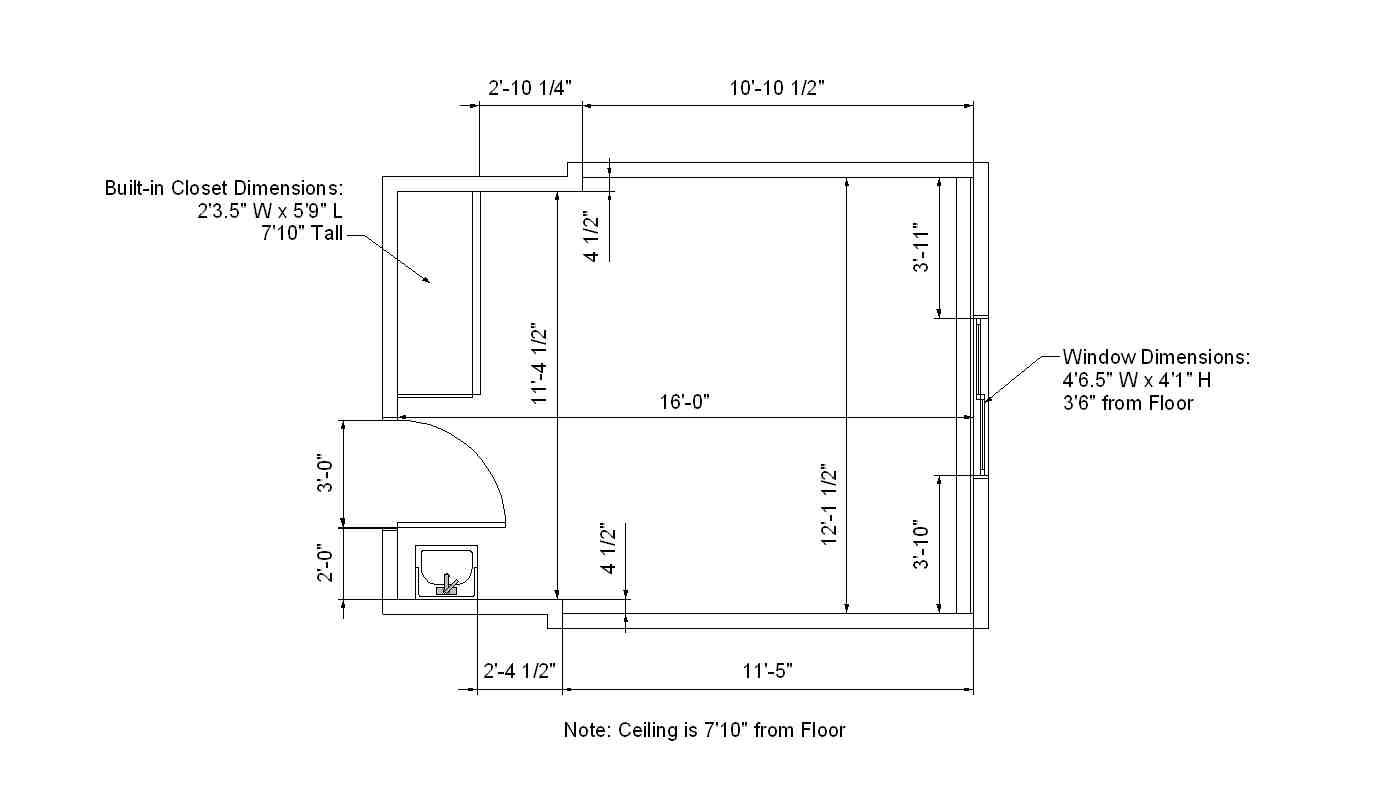 Rundstrom Hall Dimensions | Residences
