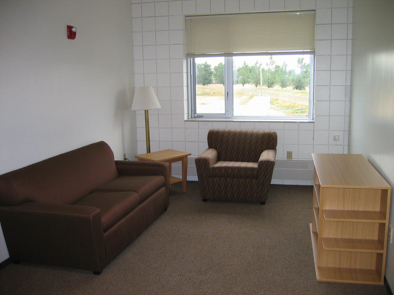 Student Apartment Living Room southwest hall dimensions | residences